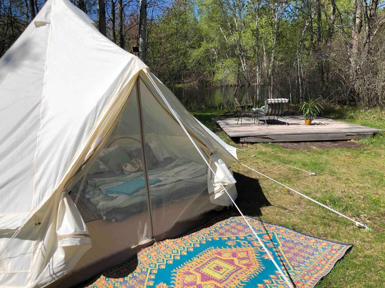 Sunrise Yurt Tent at Rocky Top