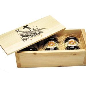 3-Jar White Cedar Gift Box
