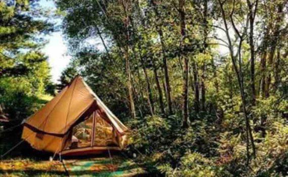 Boho Tent at Rocky Top Preserve